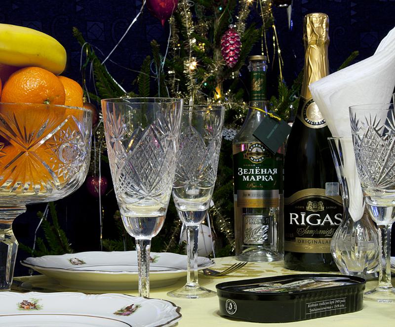 Фото шампанского с новым годом